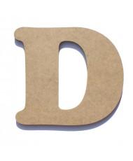 Letra de Madeira D