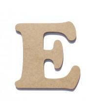 Letra de Madeira E