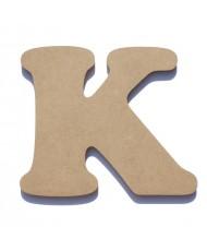 Letra de Madeira K