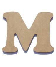 Letra de Madeira M