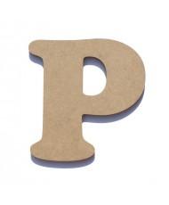 Letra de Madeira P
