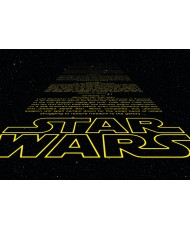 Painel decorativo Star Wars Intro