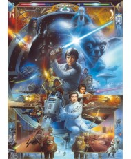 Painel decorativo Star Wars Master Yoda