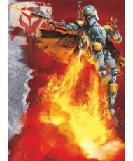Painel decorativo Star Wars Boba Fett