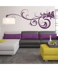 Vinil Decorativo Floral FL039