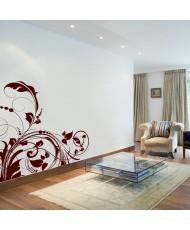 Vinil Decorativo Floral FL053