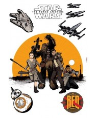 Sticker STAR WARS FIRST ORDER