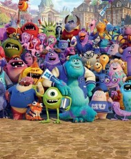 Painel Infantil DISNEY MONSTERS UNIVERSITY