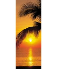 Painel decorativo Palmy Beach Sunrise1