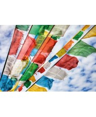 Painel decorativo Prayer Flags