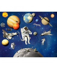 Painel Infantil SPACE ADVENTURE