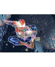 Painel decorativo Spiderman Neon