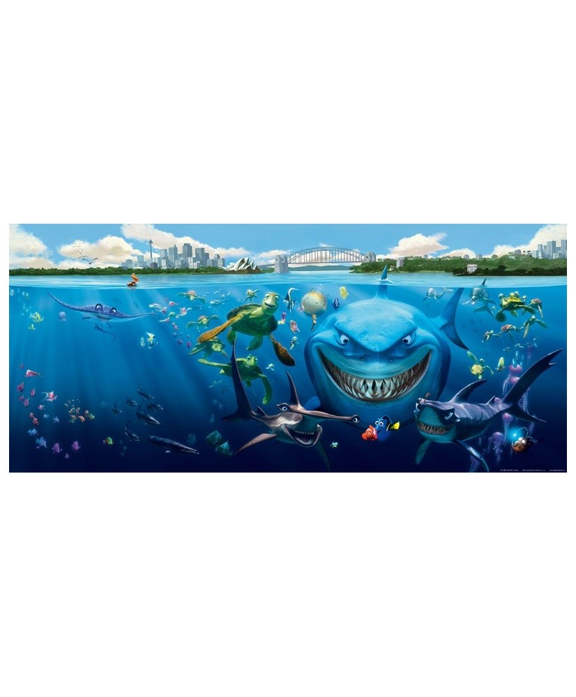 Painel decorativo Nemo & Bruce
