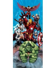 Painel decorativo AVENGERS ATTACK