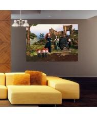 Painel decorativo BRAVE