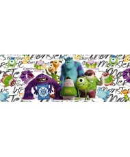 Painel decorativo Monsters Campus