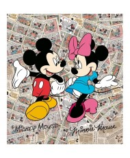 Painel decorativo MICKEY& MINNIE