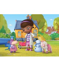 Painel decorativo Dr Mc Stuffins