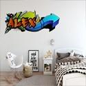Vinil Decorativo Graffiti